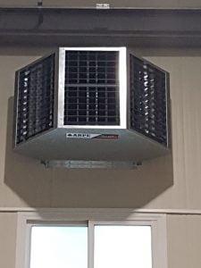 Climatizacion evaporativa arpeclima. La solución al calor de bajo coste. Soluciones de climatización para naves industriales...