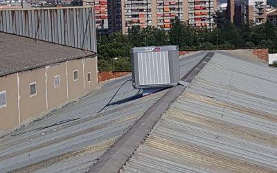 instalación equipos evaporativos