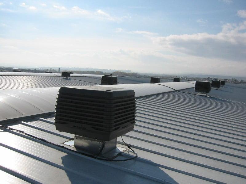 Refrigeración evaporativa para el sector industrial