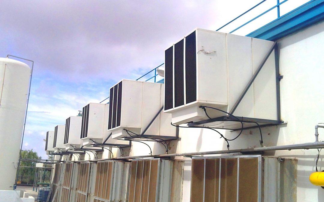 La refrigeración evaporativa en la industria cárnica