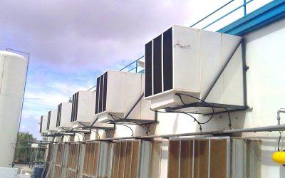 refrigeración evaporativa en la indústria cárnica